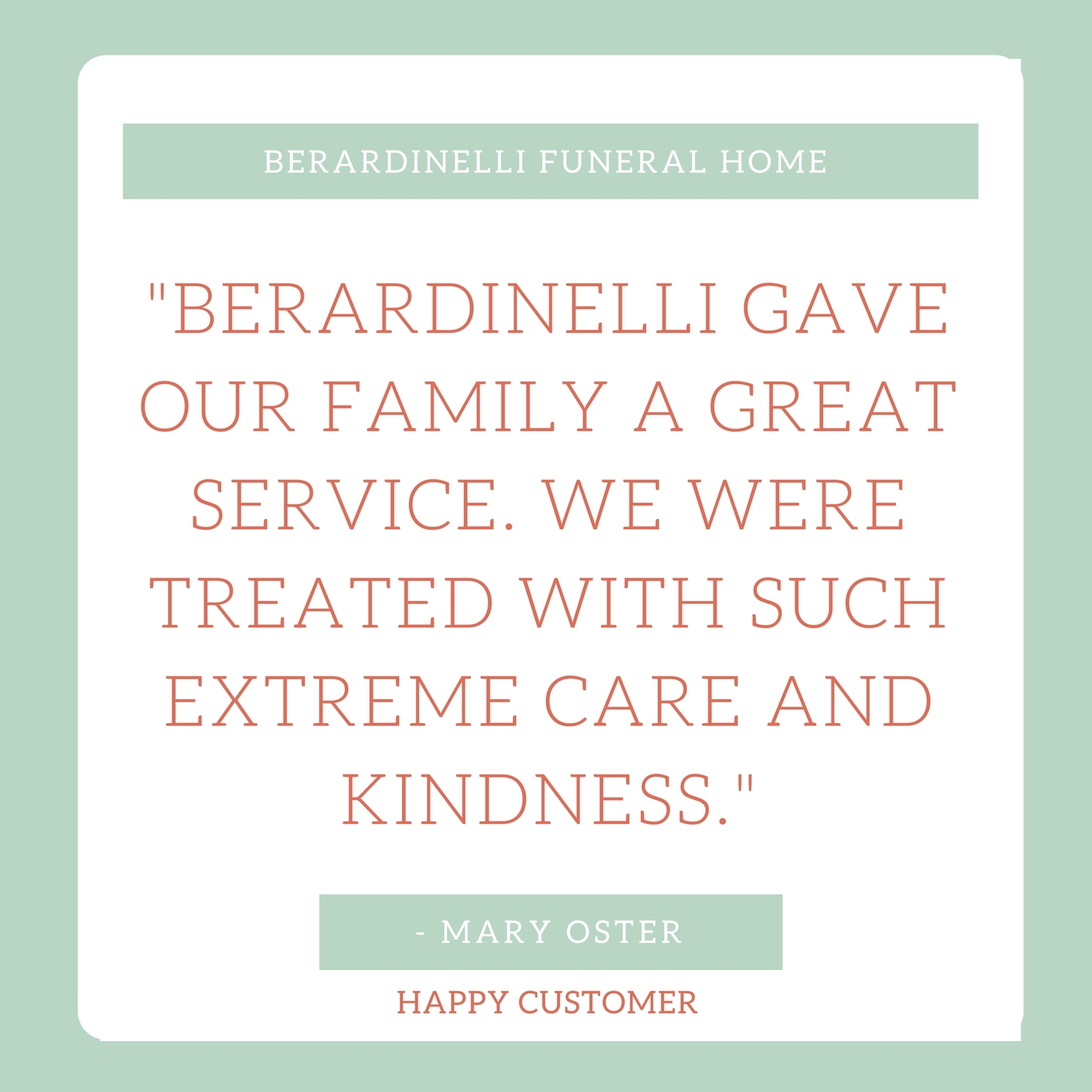 Berardinelli Funeral Home Review