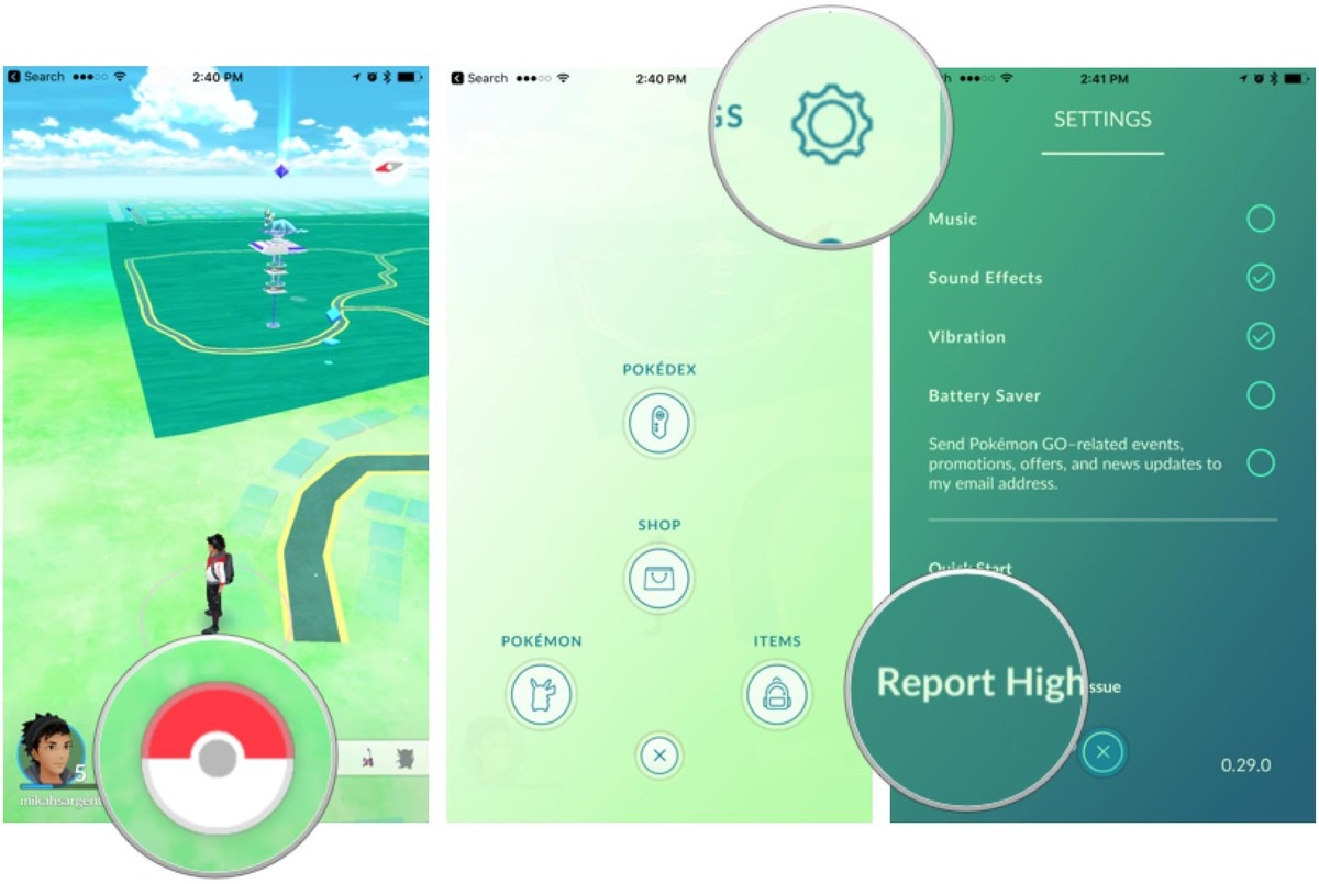 How to request removal of a location from Pokémon Go.